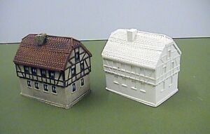 6mm German 18th Century Houses (Code 20/LE2)
