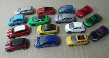 Majorette lote de 12 coches miniatura 1/60 die cast variados + 3 motor max