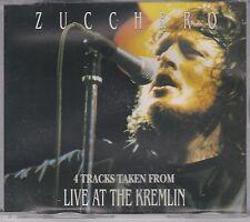 CD single ZUCCHERO Live at the Kremlin PROMO MADE IN ITALY 4 Tracks 1991