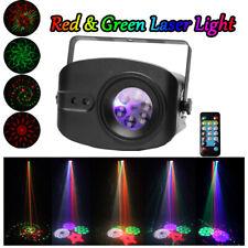 48 Muster RGB LED Laser Bühnenlicht Licht-Effekte Home Party Disco Sound Aktiv