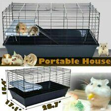 Chinchilla Guinea Pig Ferret Hamster Gerbil Mice Rat Critter Cage W/ Ladder