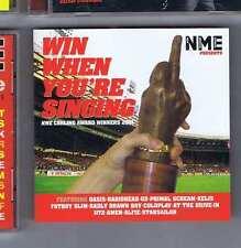 OASIS / RADIOHEAD / U2 / PRIMAL SCREAM Win when you're singing NME CD 2001