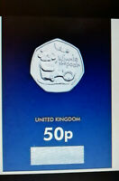 2020 WINNIE THE POOH WITH HIS POT OF HONEY 50p Fifty Pence COIN  BU + IN STOCK