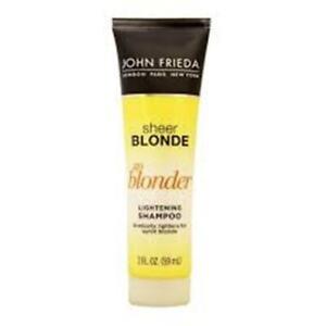1 to 4 John Frieda Go Blonder Lightening Shampoo/Conditioner