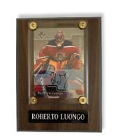 "ROBERTO LUONGO 2002 ""SIGNATURE SERIES""  Florida Panthers Wood Plaque Frame"