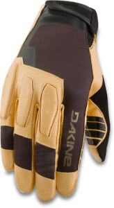 Dakine Sentinel Cycling Bike Gloves, Men's Large, Black / Tan New 2021