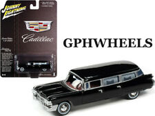 JOHNNY LIGHTNING 1959 59 CADILLAC HEARSE -Black, LIMITED TO 2520 MIP