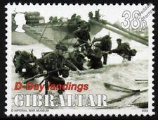 WWII D-Day JUNO BEACH - 48 Commando Royal Marines & LCI(S) Landing Craft Stamp