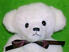 "Boyds Bears~Vintage~Lloyd-10""~W hite~Archive~Prime Minister Bear~Rare~Clean"