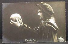 Ewald Bach - Film Foto Autogramm-AK (Y-1228
