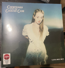 Lana Del Rey - Chemtrails Over the Country Club Exclusive Red Colored Vinyl LP