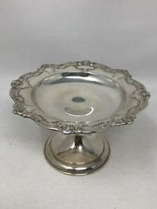 Gorham Chantilly Duchess #640 Sterling Silver Compote