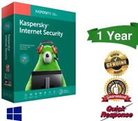 Kaspersky Internet Security 2019 Antivirus 1 PC Device 1 Year - Global Version