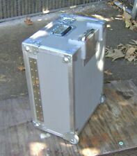 Rolling hard Case / road box w/ Pull camera video audio electronic air travel