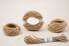 Natural Hemp Thread | String | Cord 0.1 to 1.4 mm | Macrame / Crafts / Jewelry