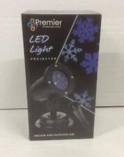 Premier LED Christmas Snowflake Projector Christmas Lighting Indoor/Outdoor