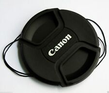 67mm Center Pinch Snap-on Front Lens Cap for Canon