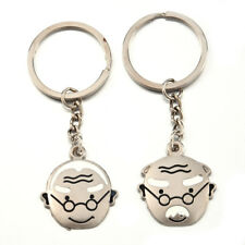 WD Humorous Old Man and Women Personalized Key Chains