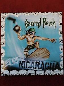 Sacred Reich-Surf Nicaragua 1988Original Vinyl E.P. Metal Blade-See Pics & Des.