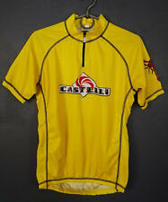 VERY RARE MEN'S SHIRT CASTELLI ITALY CYCLING BICYCLE BIKE JERSEY CAMISETA SIZE L