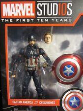 "Marvel Legends 6"" MCU Studios the First Ten Years Captain America Faceprint Tech"