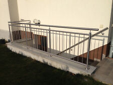 Edelstahl Kellerabgangsgeländer Edelstahl Balkon Geländer Brüstungsgeländer