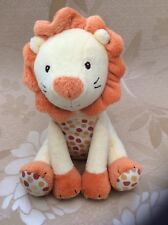 Yellow Lion Plush Soft Hug Toy Comforter Marks & Spencer Orange Spots 5818 136