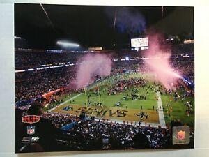 Super Bowl 44 New Orleans Saints Celebration Glossy 8 X 10 Photo Overhead