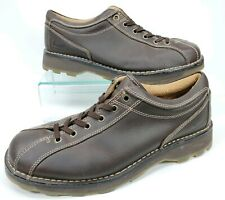DOC DR MARTENS Brown Leather Lace up Oxford Casual Bicycle Toe Work Shoes Men 12