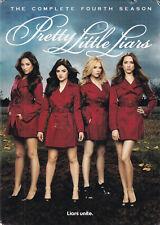 PRETTY LITTLE LIARS: The Complete Fourth Season (DVD, 2014, 5-Disc Set) (T4)