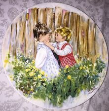 Vintage Wedgwood Collector Plate Be My Friend Signed Numbered Mary Vickers 1981