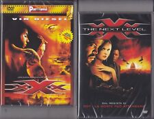 2 Dvd Lotto Stock **XXX + XXX THE NEXT LEVEL** con Vin Diesel Ice Cube nuovo