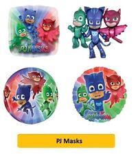 "PJ MASKS Foil BALLOONS (SuperShape/Kids/Birthday/Party/Foil/18""/Latex)"