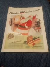 """1941 Old Gold Cigarettes Vintage Magazine Ad """"Something New has been added!"""""""
