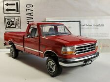 Franklin Mint 1996 Ford F-150 Pickup Truck Red 1:24 Scale Diecast Model w/Hitch