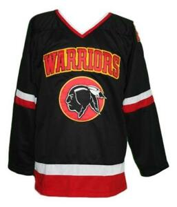 Any Name Number Size Eden Hall Warriors Custom Hockey Jersey Black Banks