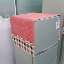 Fridge Dust Cover With Storage Bags Washing Machine Refrigerator Top Covers