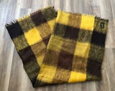 Royal Scot Blanket Throw Rug 70% Mohair 30% Wool Samuel Tweed - Made in the UK