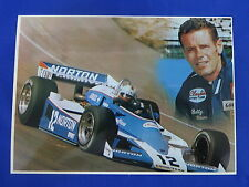 Bobby Unser Indianapolis 500 Postcard Out of Print New