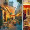 """32W""""x42H"""" CAFE VAN GOGH by HAIXIA LIU -TERRACE VINCENT LA NUIT CHOICES of CANVAS"""