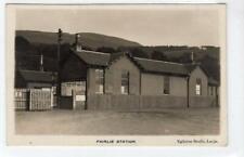 More details for fairlie railway station: ayrshire postcard (c54596)