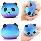 Blue Panda Cream Scented Squishy Slow Rising Squeeze Kid Toy Phone Charm Gift