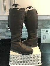 Shires Moretta Ariana (coniston) Size 4 Leather Country Riding Boots RRP £169