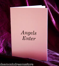 ANGELS ENTER.  Finbarr Occult  Magick. Grimoire. Witchcraft. White Bible Magic