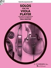 Solos For The Viola Player LEARN TO Play Strings Music Book & CD