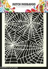 A5 Dutch Doobadoo Mask - Spiderweb - Stencil - Embossing - 011 - New