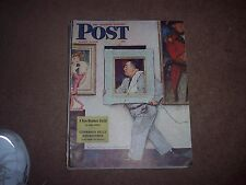 Saturday  Post Rockwell NORMAN   PICTURE HANGER  MARCH 2 1946