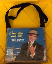 Frank Sinatra Record Tote Bag Custom By KD Creations