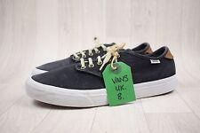 Men's Vans Sneakers Scarpe di tela Navy Blu Tg UK 8 EU 42
