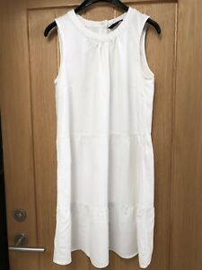 Woman's Vera Moda White Sleeveless Dress Size M